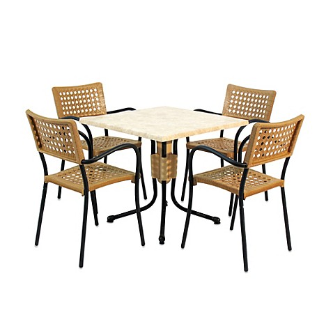 Buy Folding Table With Hidden Chairs From Bed Bath Beyond