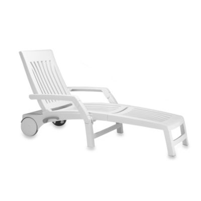 Nardi Nettuno Folding Chaise Lounge