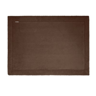Microdry® Memory Foam 17-Inch x 24-Inch Bath Rug with GripTex™ Base in Espresso