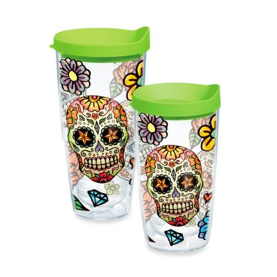 Tervis® 16 oz. Sugar Skull Wrap Tumbler with Lid