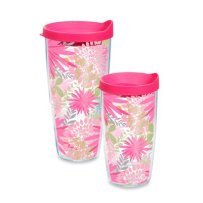 Tervis Pink Mums 16-Ounce Tumbler with Lid
