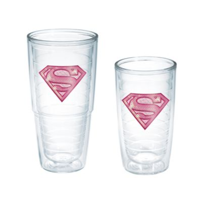 Tervis® Supergirl Pink Sequins 16-Ounce Tumbler