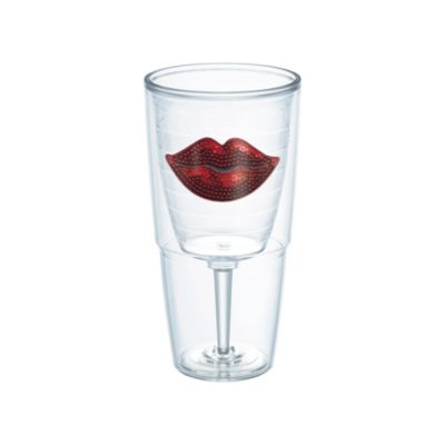 Tervis® Sequin Red Lips 16-Ounce Goblet