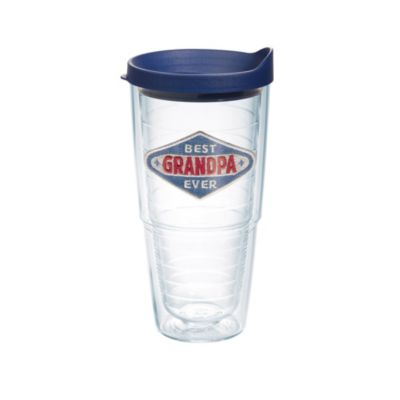 Tervis® Hallmark Best Grandpa Ever Denim Emblem 24 oz. Tumbler with Lid