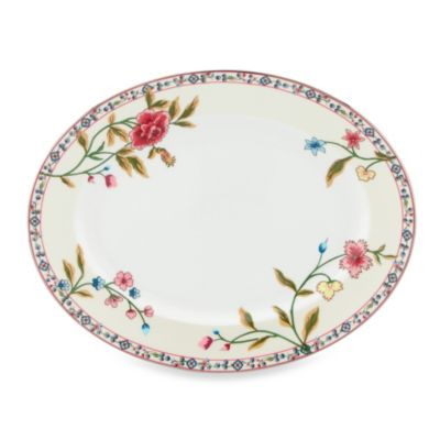 Scalamandre by Lenox® Bouvier 13-Inch Oval Platter
