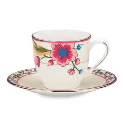 Scalamandre by Lenox® Bouvier 3-Ounce Demitasse Cup & 5-Inch Saucer
