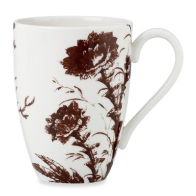 Lenox® Toile Tale 16-Ounce Mug in Chocolate
