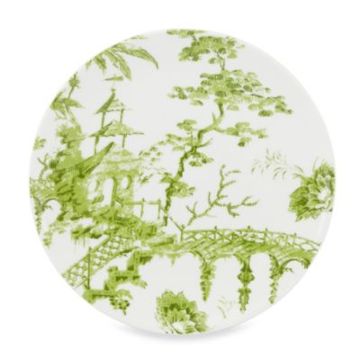Lenox® Toile Tale Chartreuse 9-Inch Accent Plates