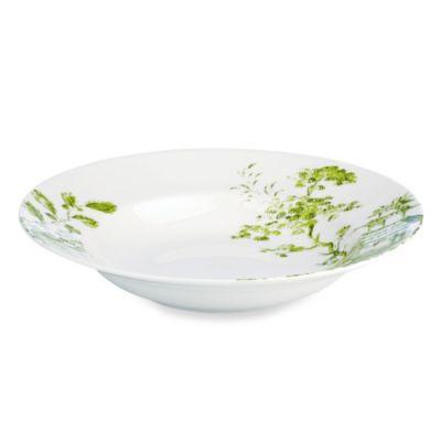 Scalamandre by Lenox® Toile Tale Chartreuse 14-Ounce Pasta/Rim Soup Bowl