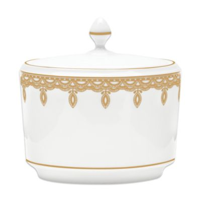 Waterford® Lismore Lace 4-Inch Sugar Bowl in Gold