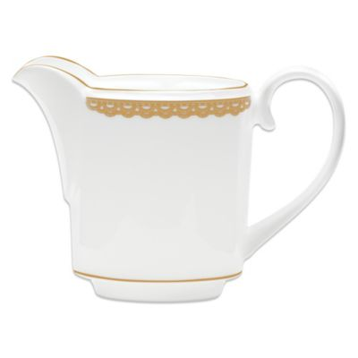 Waterford® Lismore Lace 3 1/4-Inch Creamer in Gold