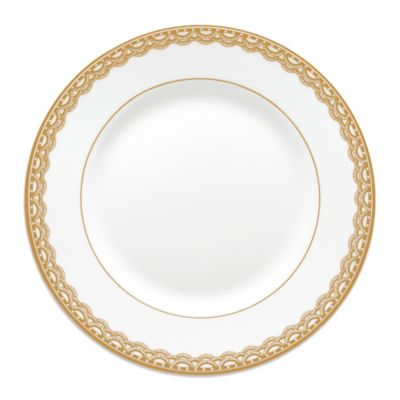 Waterford® Lismore Lace 6-Inch Bread & Butter Plate in Gold