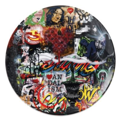 Royal Doulton® Nick Walker Collage 10.75-Inch Plate