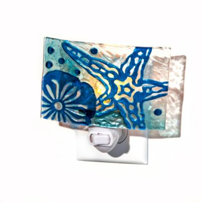 Handpainted Starfish Night Light