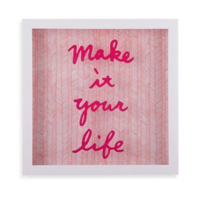 Umbra® Make it Your Life Wall Décor