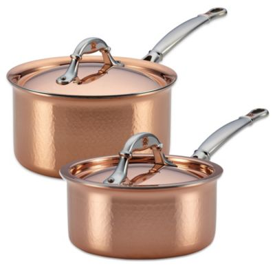 Ruffoni Symphonia Cupra 1.5-Quart Covered Copper Saucepan