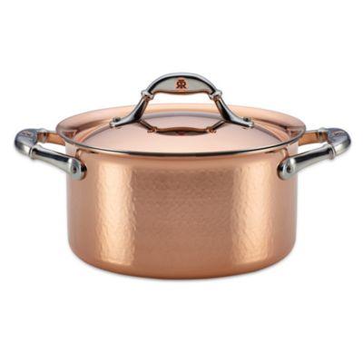 Ruffoni Symphonia Cupra 3.5-Quart Covered Copper Soup Pot