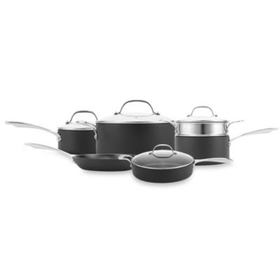 Curtis Stone HardStuff 10-Piece Cookware Set
