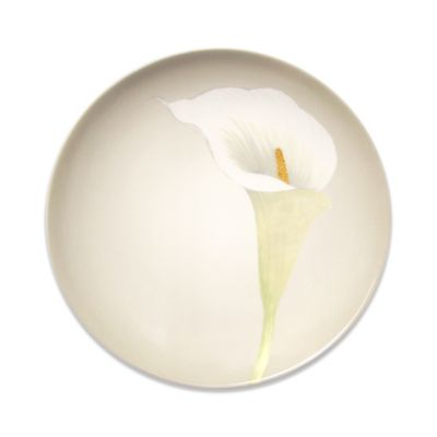 Noritake® Colorwave Accent Plate with Calla Lily in Cream