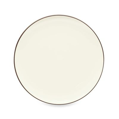 Colorwave Coupe Salad Plate in Chocolate