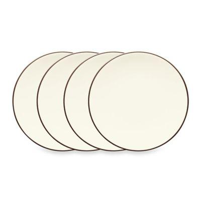 Noritake® Colorwave Mini Plates in Chocolate (Set of 4)