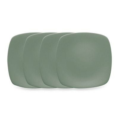 Noritake® Colorwave Mini Quad Plates in Green (Set of 4)