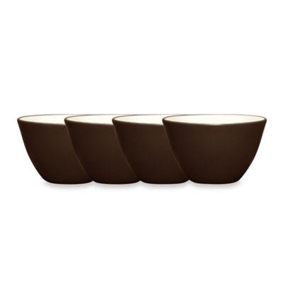 Noritake® Colorwave Mini Bowls in Chocolate (Set of 4)