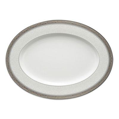 Odessa Platinum 12-Inch Oval Platter