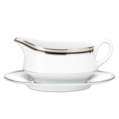 Noritake Gravy Boat and Stand