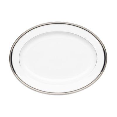 Noritake® Austin Platinum 16-Inch Oval Platter