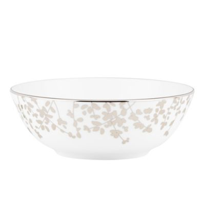 kate spade new york Gardner Street™ Platinum Soup/Cereal Bowl