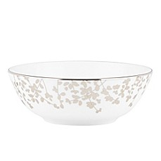kate spade new york Gardner Street Platinum 6-1/2-Inch Soup/Cereal Bowl