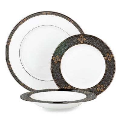 Lenox® Vintage Jewel 3-Piece Place Setting with Rim Soup Bowl