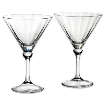 Reed & Barton Martini Glasses