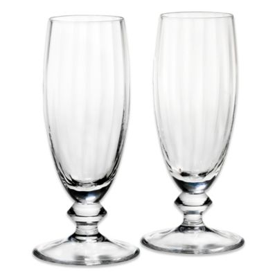 Reed & Barton Austin Toasting Flutes (Set of 2)