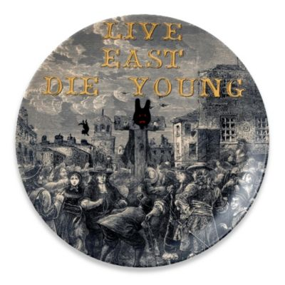 Royal Doulton® Pure Evil Live East Die Young 10.75-Inch Plate