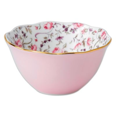 Royal Albert Confetti 4-Inch Bowl in Rose