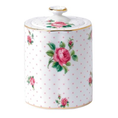 Pink Tea Caddy