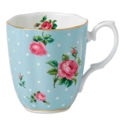 Royal Doulton® Polka Dot Mug in Blue