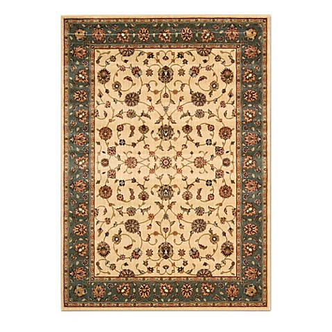 Nourison Persian Arts Kashan Rugs in Ivory