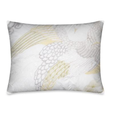 KAS® Eva Phoenix Oblong Toss Pillow