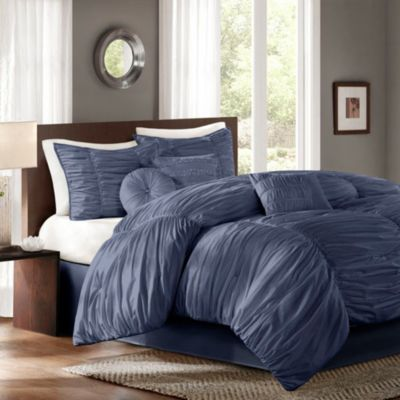 Sidney Comforter Set in Blue