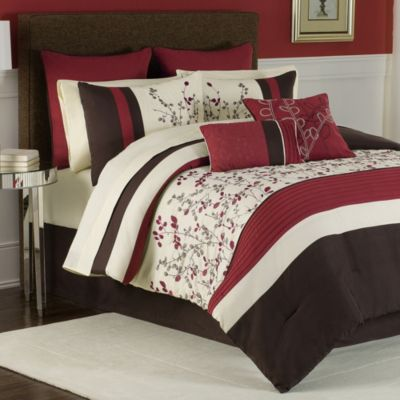 Charice 12-Piece Full Comforter Super Set