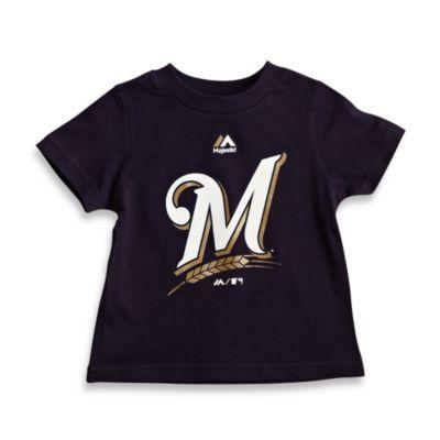 MLB Size 12M Milwaukee Brewers Tee