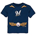 MLB Milwaukee Brewers Tee with Cape