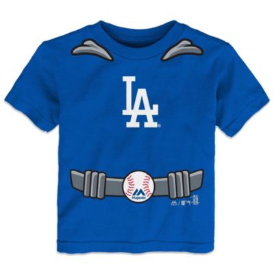 MLB Size 4T Los Angeles Dodgers Tee with Cape
