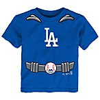 MLB Los Angeles Dodgers Tee with Cape