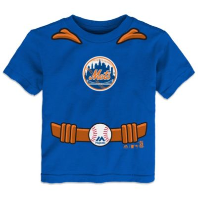 MLB Size 4T New York Mets Tee with Cape