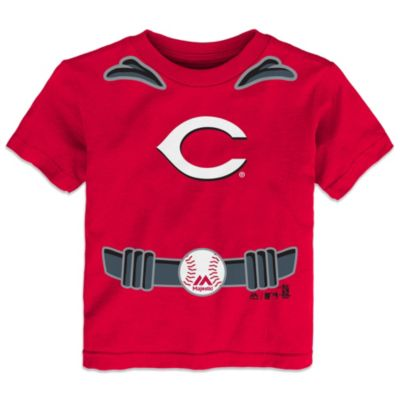 MLB Size 3T Cincinnati Reds Tee with Cape