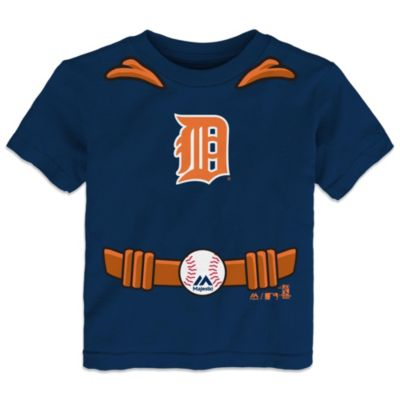 MLB Size 3T Detroit Tigers Tee with Cape